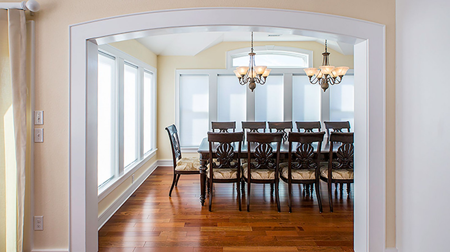 New Construction in Corolla, NC - Custom Dining Room